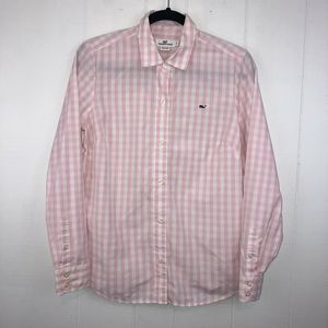 Vineyard Vines Gingham Plaid Shirt 8